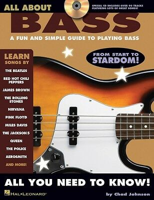 All About Bass A Fun and Simple Guide to Playing Bass Bass Instruction 000695930