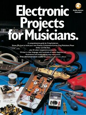 Electronic Projects for Musicians Book and CD NEW 014010046