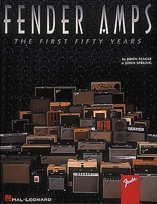 Fender Amps The First Fifty Years Guitar Book NEW 000697278