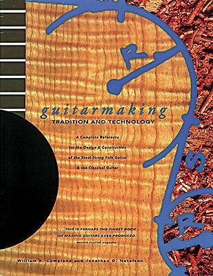 Guitarmaking Tradition and Technology Book NEW 014013555