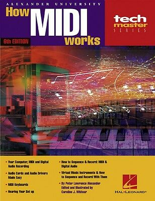 How MIDI Works 6th Edition Book NEW 000330576