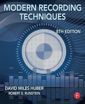 Modern Recording Techniques 8th Edition Book NEW 000123125