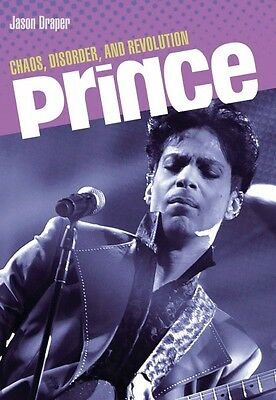 Prince Chaos Disorder and Revolution Book NEW 000332985