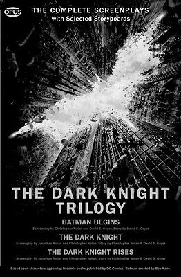 The Dark Knight Trilogy The Complete Screenplays Book NEW 000102859