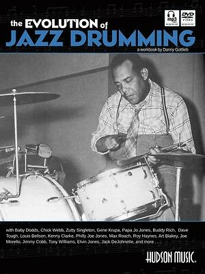 The Evolution of Jazz Drumming Percussion NEW 006620155