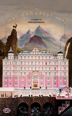 The Grand Budapest Hotel The Illustrated Screenplay Book NEW 000126503