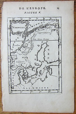 MALLET: Map of Norway - 1683
