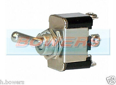 12V Volt Heavy Duty Car 25A Universal Metal On/on Toggle/flick Switch Dashboard