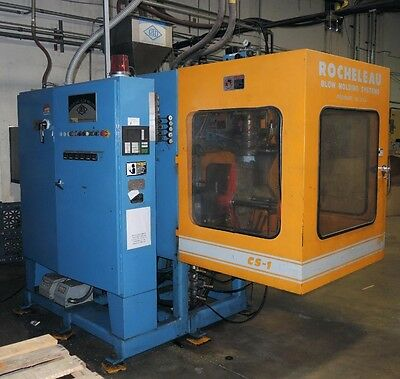 CS1 Rocheleau Blow Molding Machine Continuous Extruder - Single Head -Year 1999
