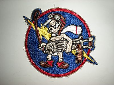 USAF 487TH FIGHTER SQUADRON HERITAGE PATCH