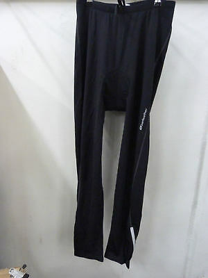 Bellwether Mens Thermadress Tight W/Pad Black XL Winter Cycling Tights