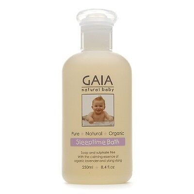 Gaia Natural Baby Sleeptime Bath Wash 250ml
