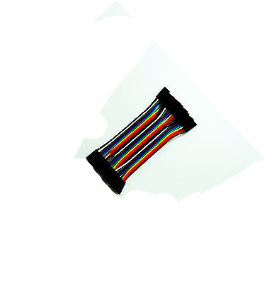 10pcs 3pin 10cm Dupont Wire Color Jumper Cable 2.54mm Female-Female For Arduino