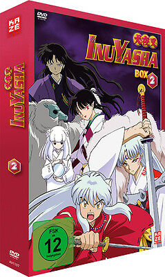InuYasha - TV Serie - Box 2 - Episoden 29-52 - DVD - NEU