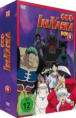 InuYasha - TV Serie - Box 4 - Episoden 81-104 - DVD - NEU