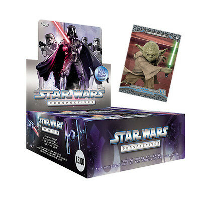 Topps Star Wars Perspectives Sealed Box / 24 Packets Per Box / 6 Cards Per Pack