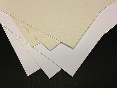 Giclee Genuine Cotton Canvas For Inkjet Printers 340gsm 10x A4 Sheets