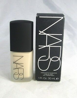 Nars Sheer Matte Foundation ~ Light 1 Siberia ~ 1 fl oz. ~ BNIB