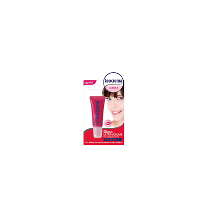 LEOCREMA gloss per labbra ultra volume red fruits