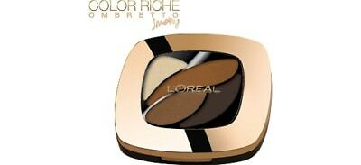 L OREAL ombretto multicolore color riche smoky quad e3 infiniment bronze
