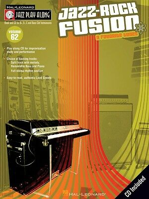 Style; In Jazz Fusion Jazz Play Along Book And Audio New 000127558 Fashionable