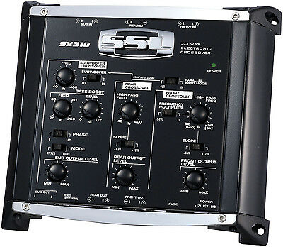 Crossover 2/3-Way Electronic Soundstorm Sx310 Signal Processors