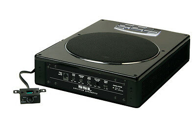 """Low Profile 8"""" 600w Amplified Subwoofer Soundstorm Lopro8 Woofer Boxes/tube"""