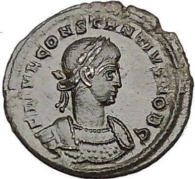 CONSTANTIUS II son of  Constantine the Great  Ancient Roman Coin Legions i40591