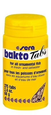 Sera bakto-tabs for all ornamental fish in fresh and saltwater 68g