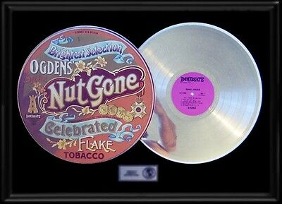 The Small Faces Ogdens Nut Gone Flake Gold Record Platinum Rare Lp Album