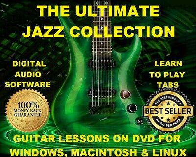 The Ultimate Jazz Collection 960 Guitar TABS Lesson CD 234 Backing Tracks BONUS!