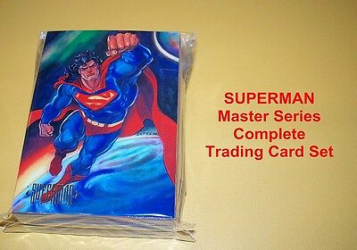 SUPERMAN Master Series Complete Trading Card Set