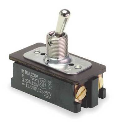 CARLING TECHNOLOGIES EK204-73 Toggle Switch,DPST,4 Conn.,On/Off