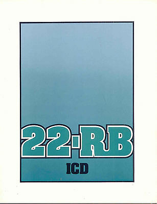 22-RB ICD sales book