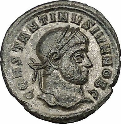 CONSTANTINE II Jr Constantine the Great son Ancient Roman Coin Wreath   i40649