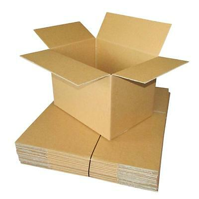 20 x Cardboard Boxes 440x310x310mm Brown Packaging Carton Mailing Box Strong