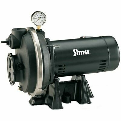 Simer 9 GPM 1/2 HP Thermoplastic Convertible Well Jet Pump
