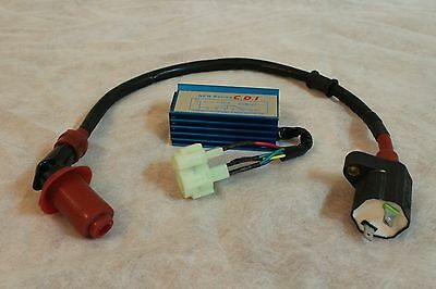 Performance 6-pin CDI + Racing Ignition Coil GY6 50cc 125cc 150cc Scooter Gokart
