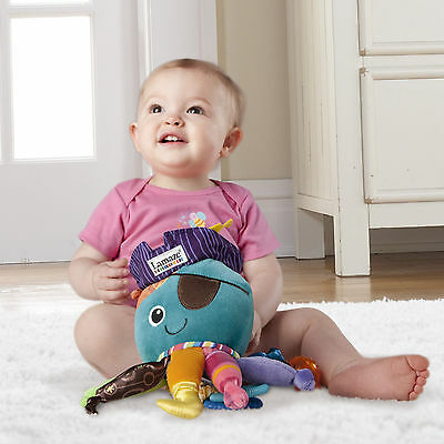 tomy lamaze babyspielzeug calamari pirat krake spiegel bei ring ab 0 monate neu eur 18 99. Black Bedroom Furniture Sets. Home Design Ideas
