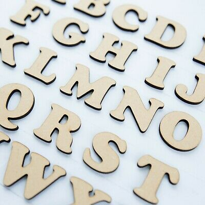 WOODEN LETTERS & NUMBERS IN COOPER BLACK FONT & SIZES 2-3-4-5-6-7-8 AND 10cm