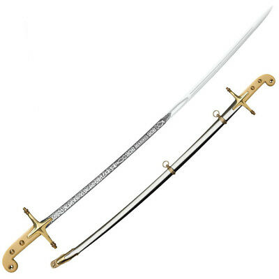 Cold Steel US Marine Corps Officer's Saber W/ Steel Scabbard Brass Fitting 88MOS