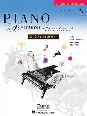 Level 2A Christmas Book Piano Adventures Faber Piano Adventures NEW 000420207