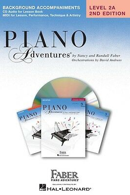 Level 2A Lesson Book CD Piano Adventures Faber Piano Adventures CD NEW 000420070