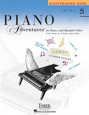 Level 2A Sightreading Book Piano Adventures Faber Piano Adventures NEW 000102766