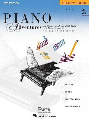 Level 2A Theory Book 2nd Edition Piano Adventures Faber Piano Adventur 000420175