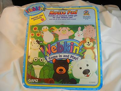 Webkinz Mouse Pad Country Living w/ Feature Code NIP