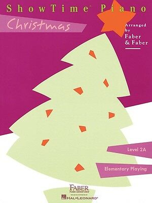 ShowTime Christmas Level 2A Faber Piano Adventures Book NEW 000420146