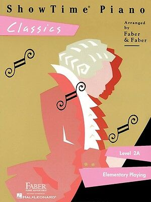 ShowTime Classics Level 2A Faber Piano Adventures Book NEW 000420161