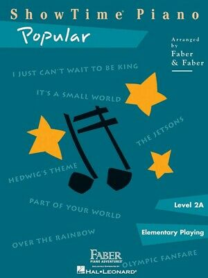 ShowTime Popular Level 2A Faber Piano Adventures Book NEW 000420152
