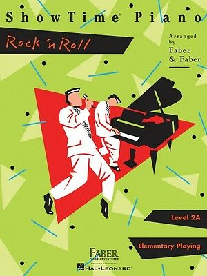 ShowTime Rock 'n Roll Level 2A Faber Piano Adventures Book NEW 000420329